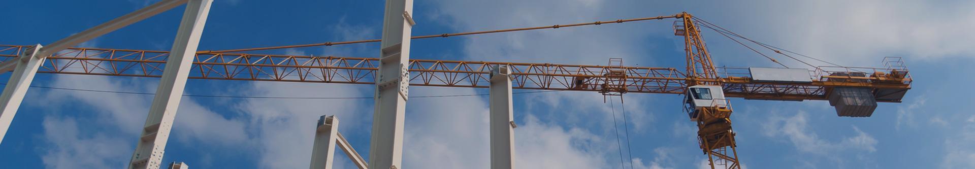 żurawie na budowie