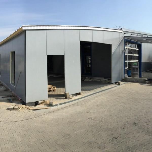Budowa hal stalowych w Poznaniu