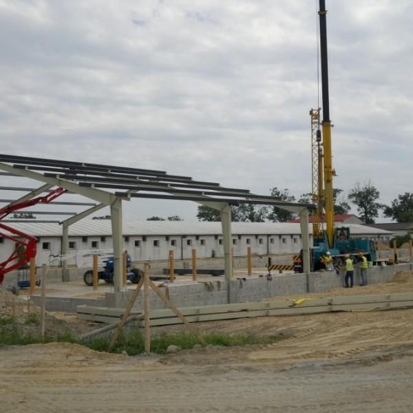 Konstrukcje stalowe dla przemysłu