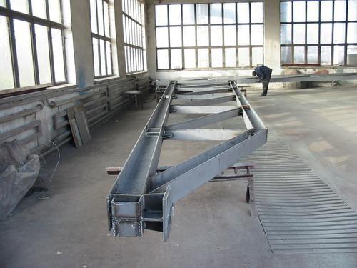 Konstrukcje stalowe linii technologicznych