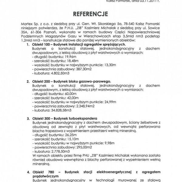 Referencje ZiB Poznań