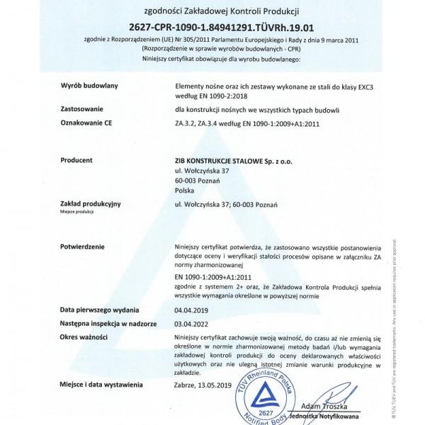 CertificateFPC-1090-EN-PL-1